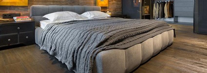 Giường bọc vải
